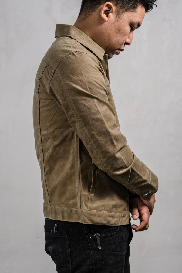 Rogue Territory Supply Jacket Tan Ridgeline