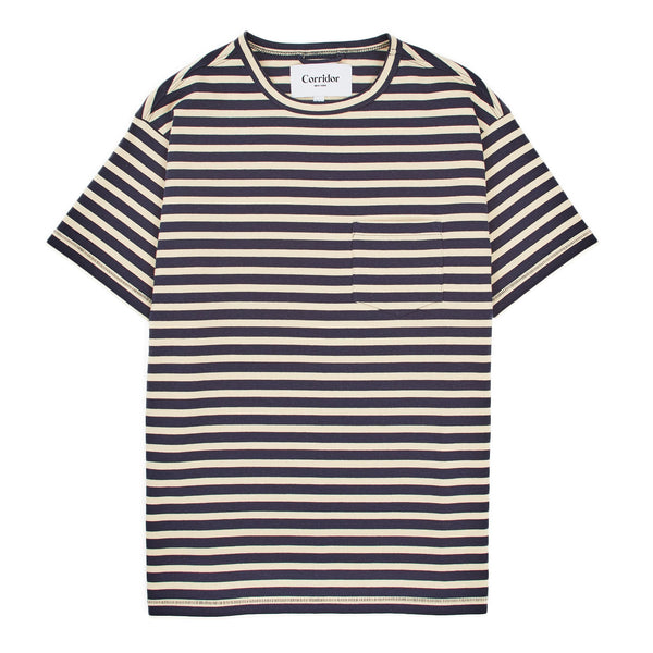 Navy Stripe T-Shirt