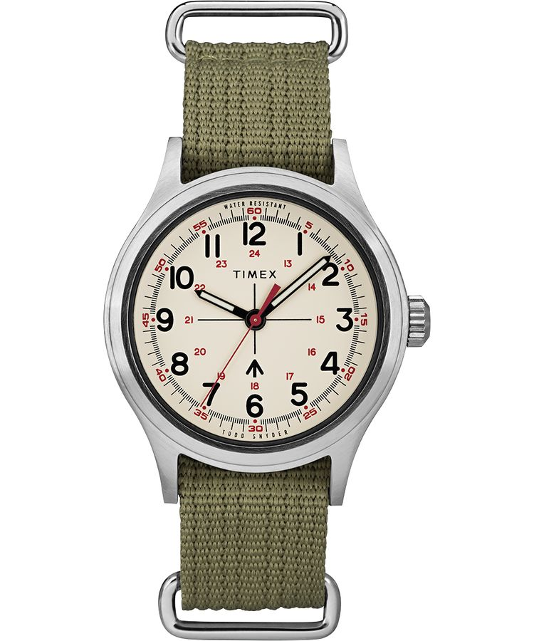 Timex x Todd Snyder Military (White)