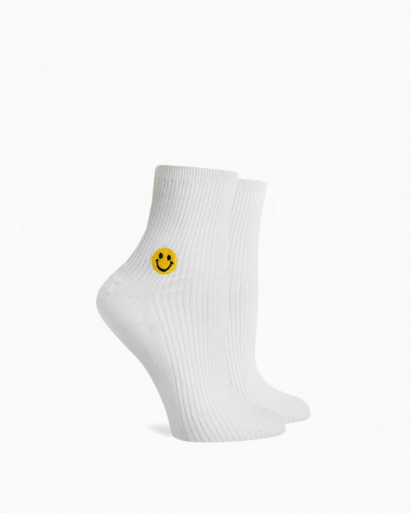 Modal Ankle Smiley Socks