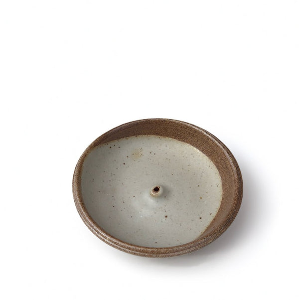 Handmade Stoneware Incense Burner