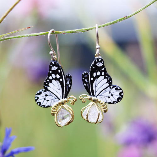Handmade butterfly earrings - Fair Fashion