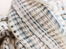 Load image into Gallery viewer, Handwoven cotton scarf, Chimmuwa,, fair fashion