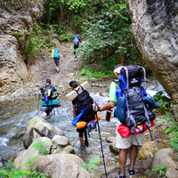Backpacking en el Sendero Guayabal: 16, 17 y 18 de agosto