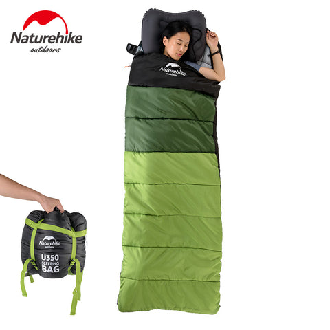 Sleeping bag con capucha de hasta 5°C