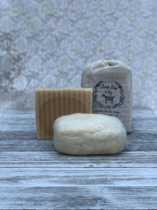 Unscented goats milk