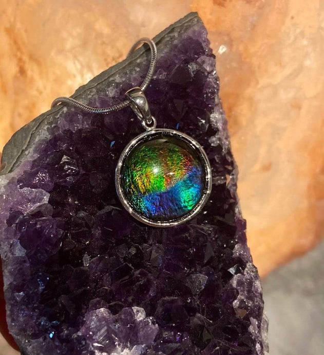Ammolite Oval Moon