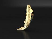 "Load image into Gallery viewer, ""King Salmon"" 14K Yellow Gold & BC Opals"