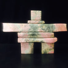 "Load image into Gallery viewer, Inukshuk ~ BC Pink Rhodonite ""Panther"""