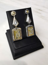 Load image into Gallery viewer, Yellow Diamond Earrings 18K YG