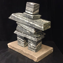 Load image into Gallery viewer, Inukshuk ~ BC Galaxy Marble