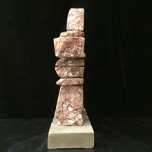 Load image into Gallery viewer, Inukshuk ~ BC Red Fossil Marble