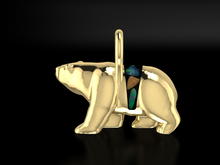 "Load image into Gallery viewer, ""Jasper"" 14K Yellow Gold & BC Opals"