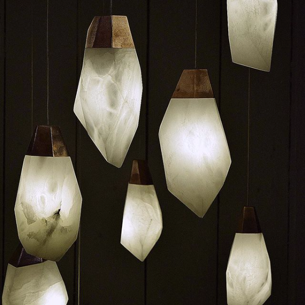 Alabaster Stone Pendant Lights