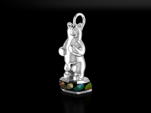 """Harrison"" Sterling Silver & BC Opals"