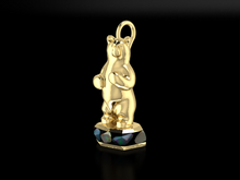 "Load image into Gallery viewer, ""Harrison"" 14K Yellow Gold & BC Opals"