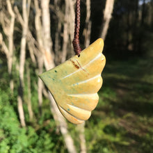 Load image into Gallery viewer, 'Wing in flight' (New Zealand flower jade)