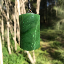 Load image into Gallery viewer, 'Pillar' pendant (Canadian jade)
