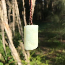 Load image into Gallery viewer, 'Freedom' pendant (Russian white jade)