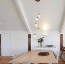 Load image into Gallery viewer, Alabaster Stone Pendant Lights