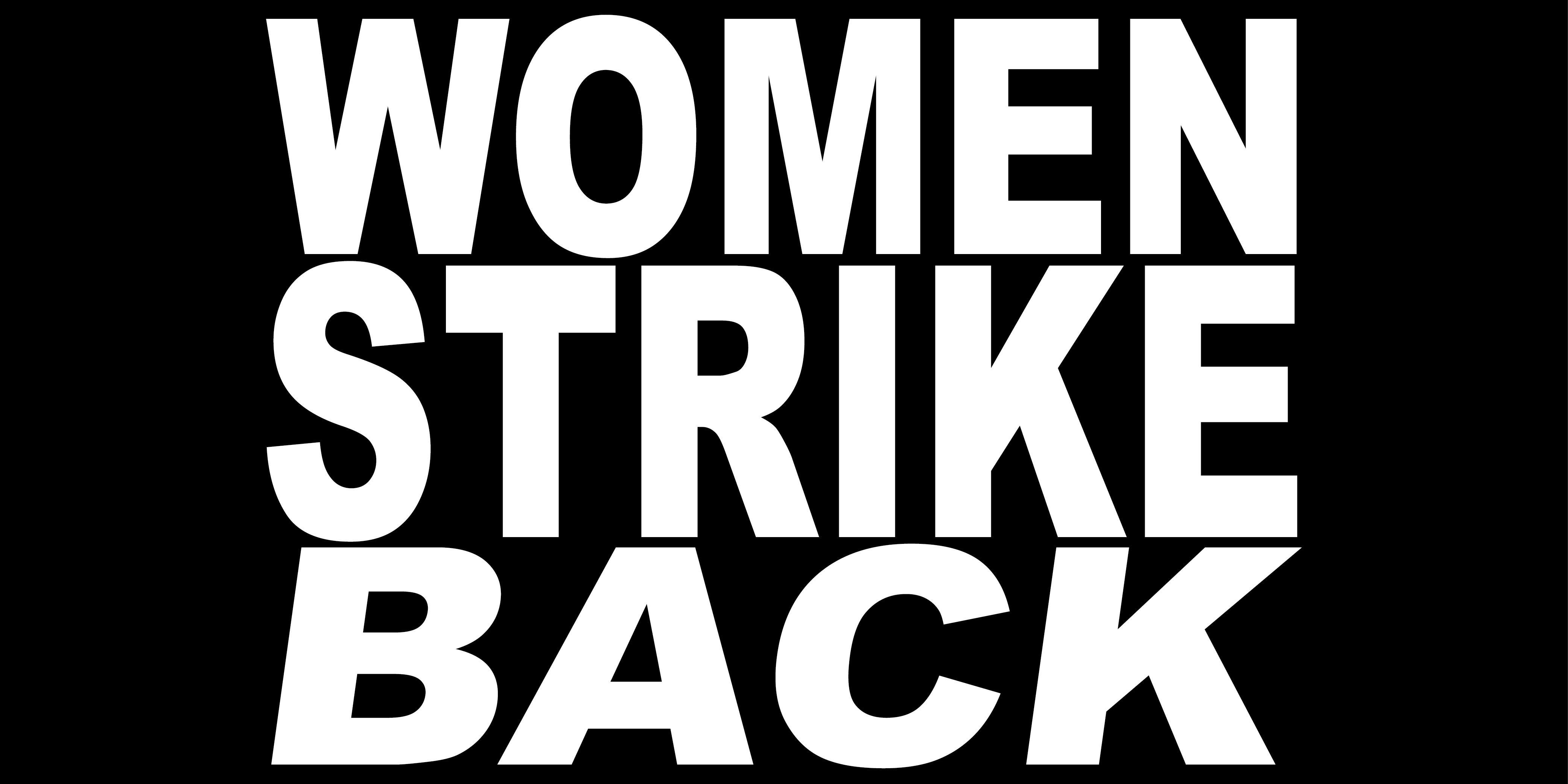 WOMEN STRIKE BACK (ITALICS)