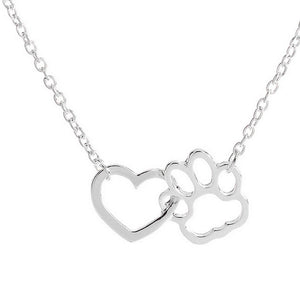 Heart & Paw Necklace