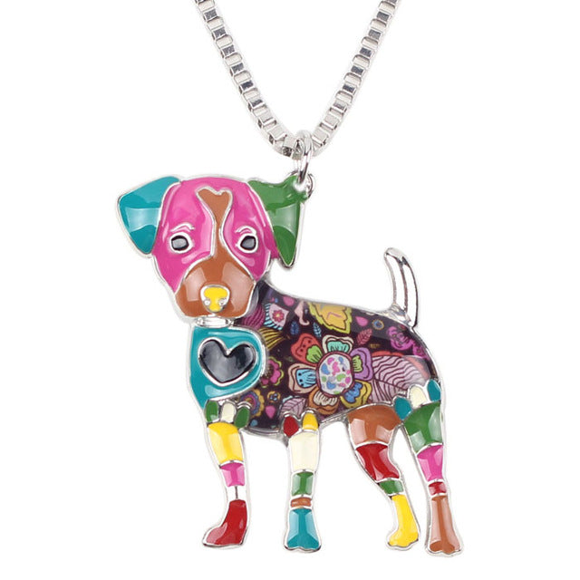 Colorful Dog Necklace