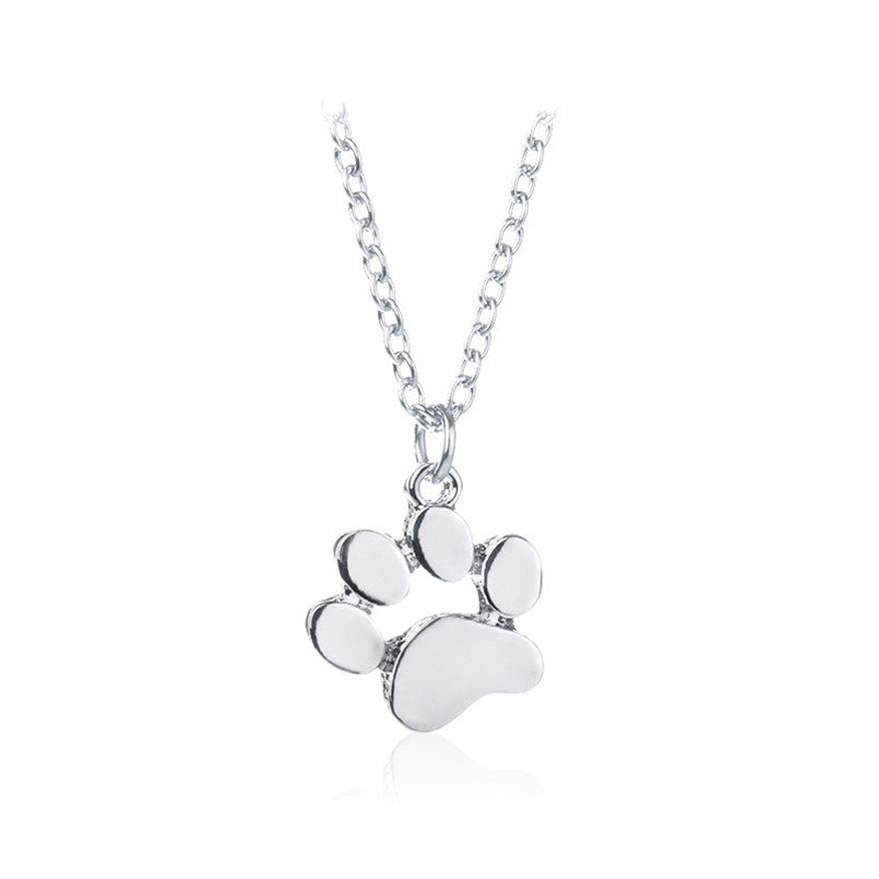 Dog Footprint Necklace
