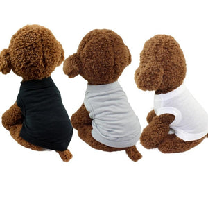Dog Solid Color T-Shirt