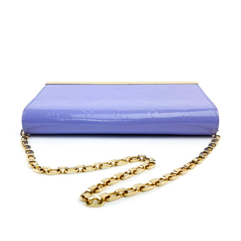 Monogram Vernis Ana Clutch Bag Lilac