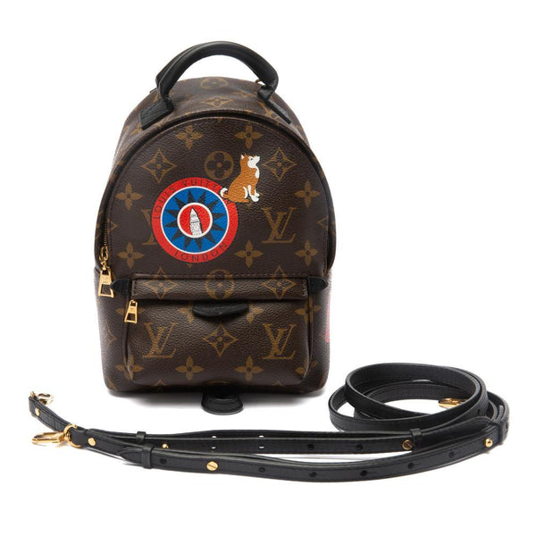 Louis Vuitton Mini Palm Springs Backpack Straps