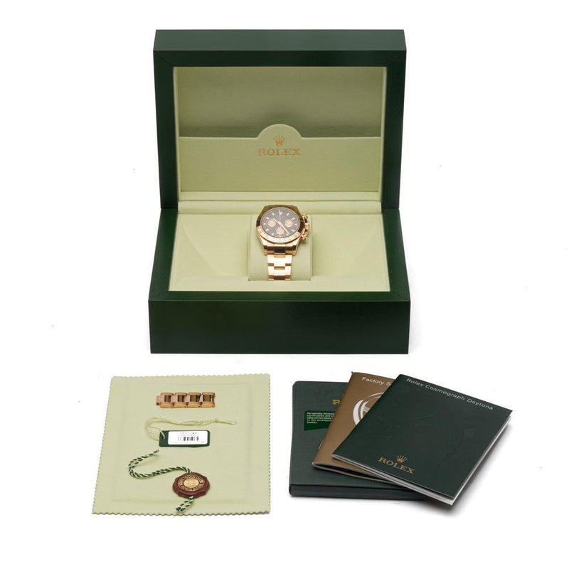 18k Rose Gold Daytona Everose Watch 116505.