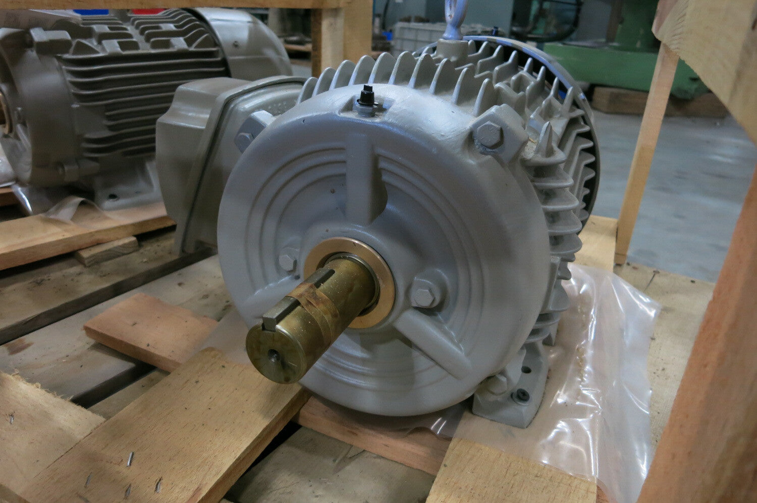 SIEMENS 10 Hp Double Shaft Electric Motor