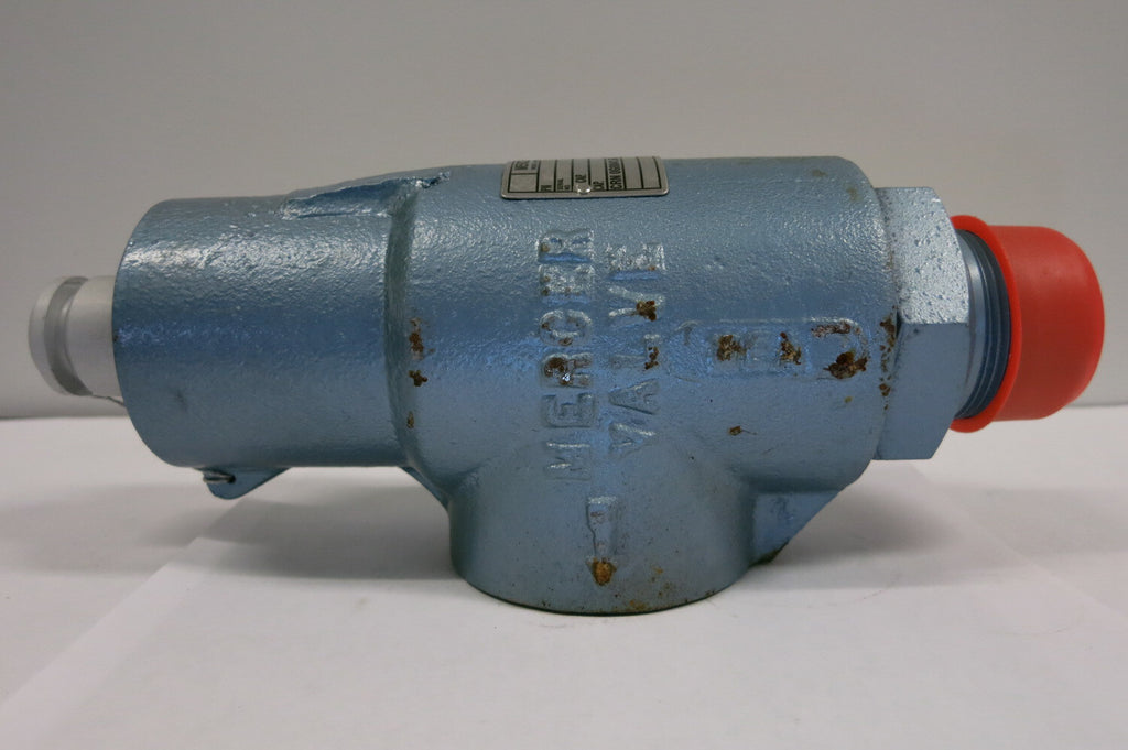 MERCER 9100 series Valve