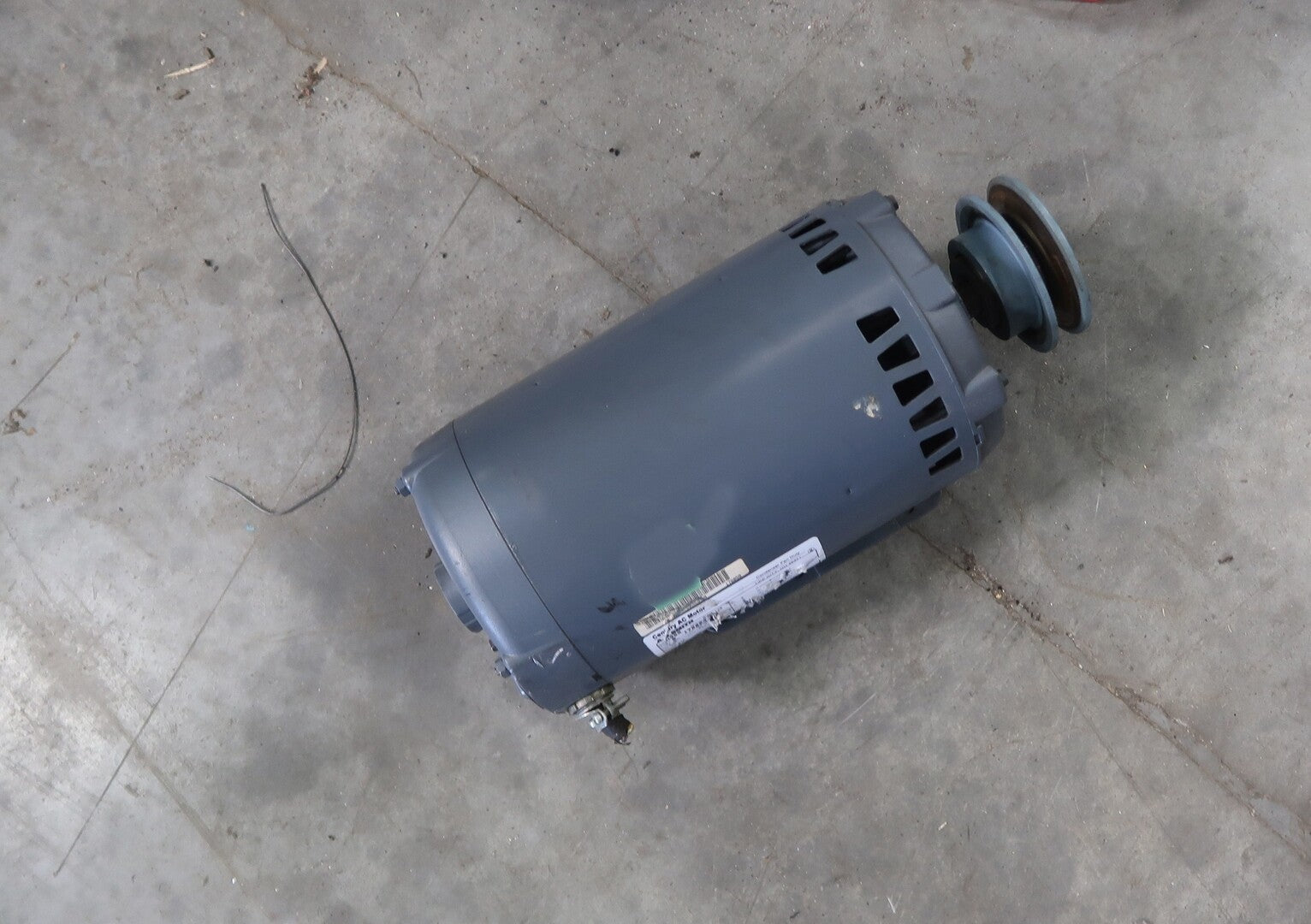 CENTURY 3 Hp Electric Motor