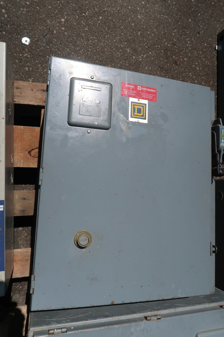 SQUARE-D 50 Amp Non-Fused Disconnect W/ Contactor