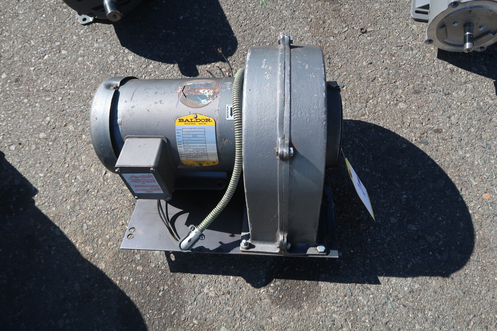 BALDOR 1.5 Hp Electric Motor