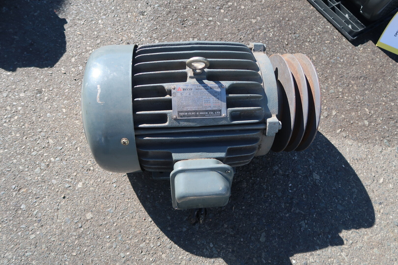 TECO 5 Hp Induction Electric Motor