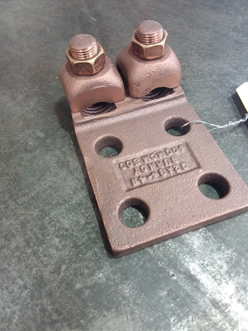 BURNDY Copper Boltted Cap Terminal 4Pad holes