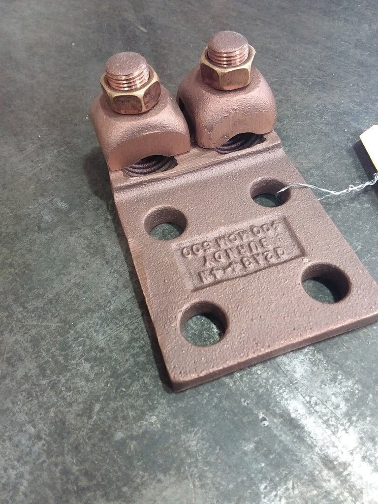 Copper Boltted Cap Terminal 4Pad holes