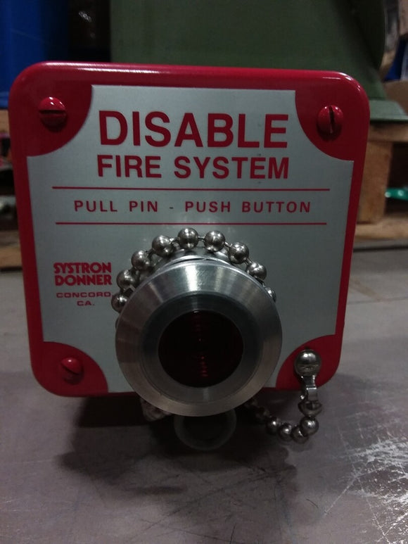 Meggitt Safety System Disable Fire System Box