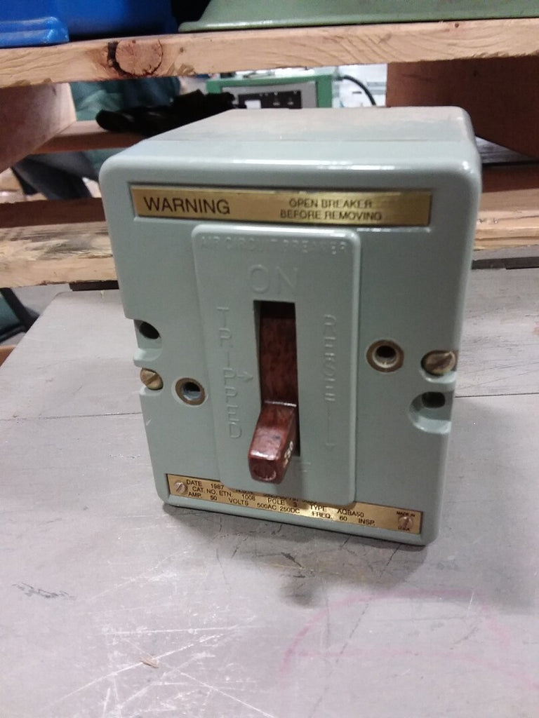 50 Amp Air Circuit Breaker
