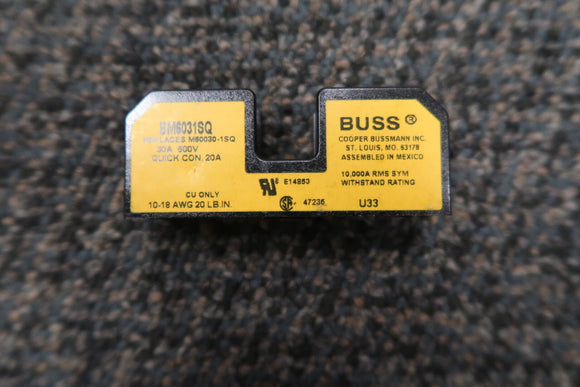 COOPER BUSSMANN BM6031SQ Fuse Holder