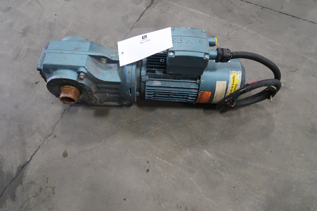 1 hp Motor With Gear Reducer