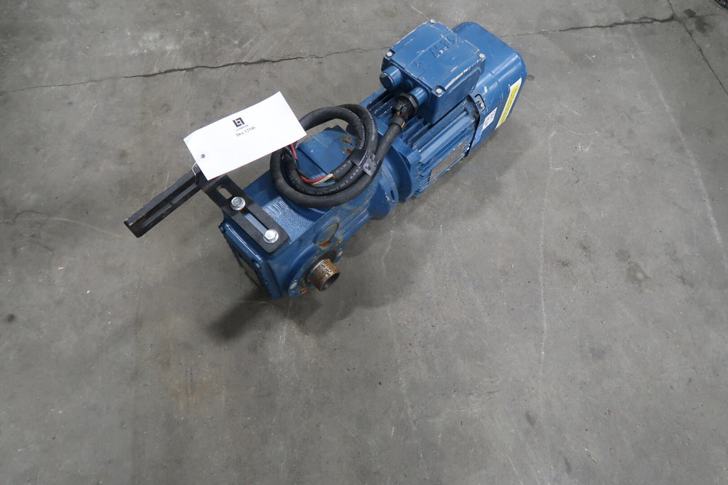 1.5 hp Motor with Gear Reducer