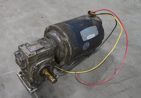 LEESON 1/2 Hp Motor W/ Gear Reducer