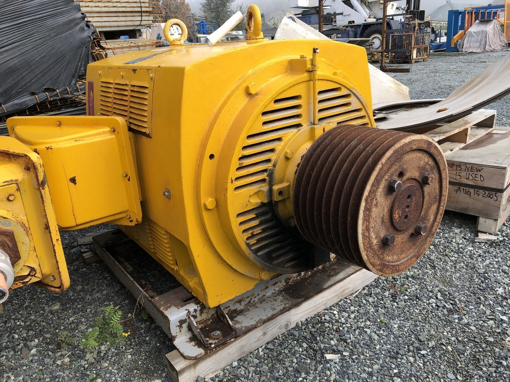 TECO WESTINGHOUSE 400 hp Industrial Electric Motor