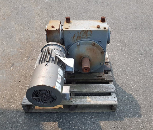 HUB CITY 3 Hp Gear Reducer W/ Baldor Motor