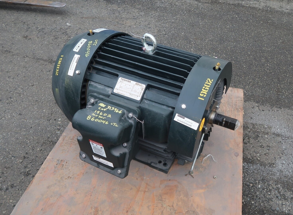 TOSHIBA 75 hp Electric Motor