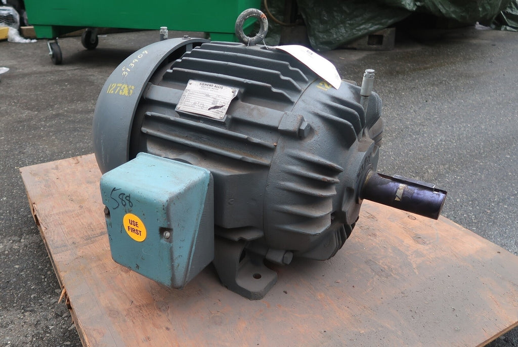 SIEMENS 20 hp Electric Motor